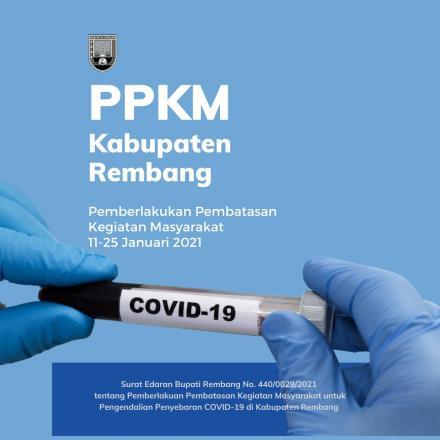 Kabupaten Rembang Resmi Berlakukan PPKM